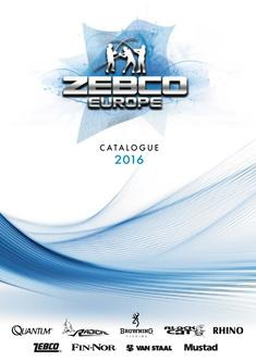 The new extensive Zebco Catalogue 2016