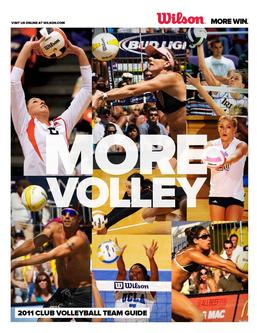 2011 Volleyball Team Guide