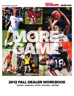 2012 Fall Dealer Workbook