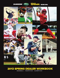 2013 Spring Dealer Workbook