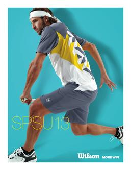 2013 Spring/Summer Tennis Apparel & Footwear