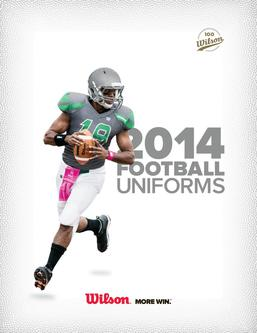 2014 Football Uniforms