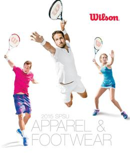 2015 Tennis Apparel & Footwear