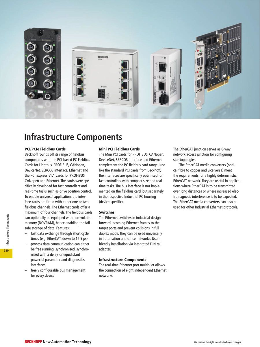 Infrastructure Components 2017 by Beckhoff Automation