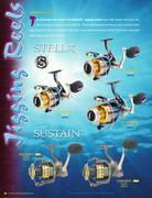 shimano fishing catalog in butterfly jigs 2008 by shimano, Fishing Reels