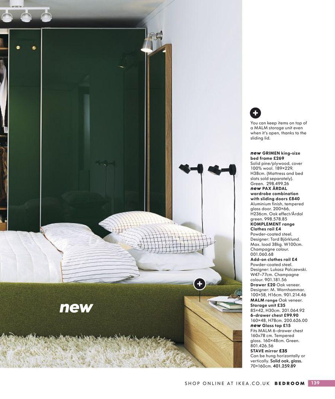 ikea pax ardal green sliding doors for wardrobe ebay. Black Bedroom Furniture Sets. Home Design Ideas