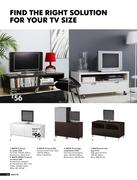 Tv bench in tv solutions and living room storage by ikea uk for Tv solutions for living room