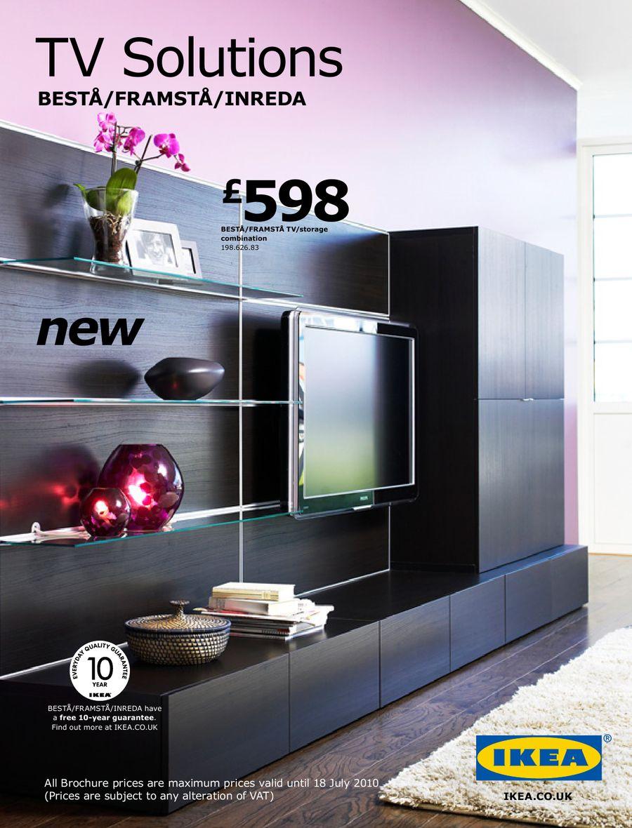Ikea Framsta tv solutions 2010 by ikea uk
