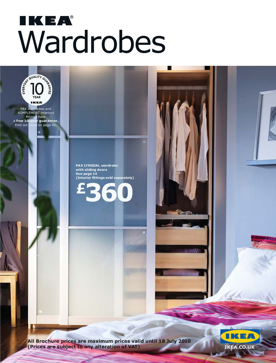 Wardrobes 2010 By Ikea Uk