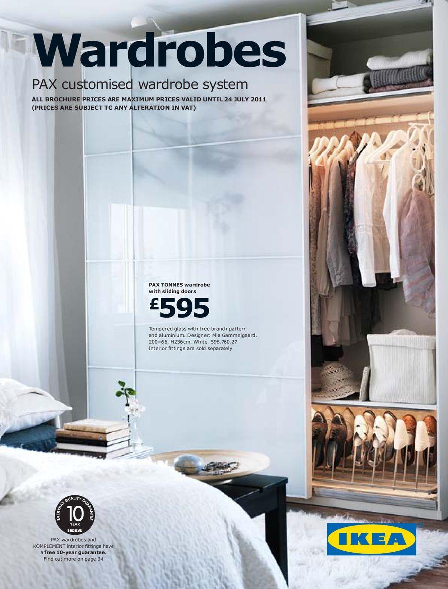 wardrobes 2011 by ikea uk