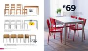 Glass Table And 4 Chairs In Ikea Catalogue 2011 By Ikea Uk