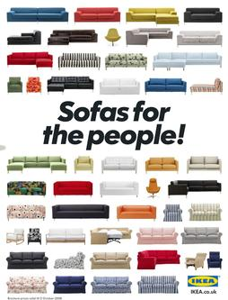 Sofas for the people 2009