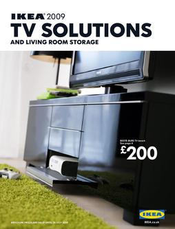 tv solutions and living room storage by ikea uk
