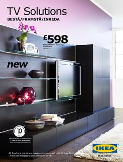 besta tv storage in tv solutions 2010 by ikea uk. Black Bedroom Furniture Sets. Home Design Ideas