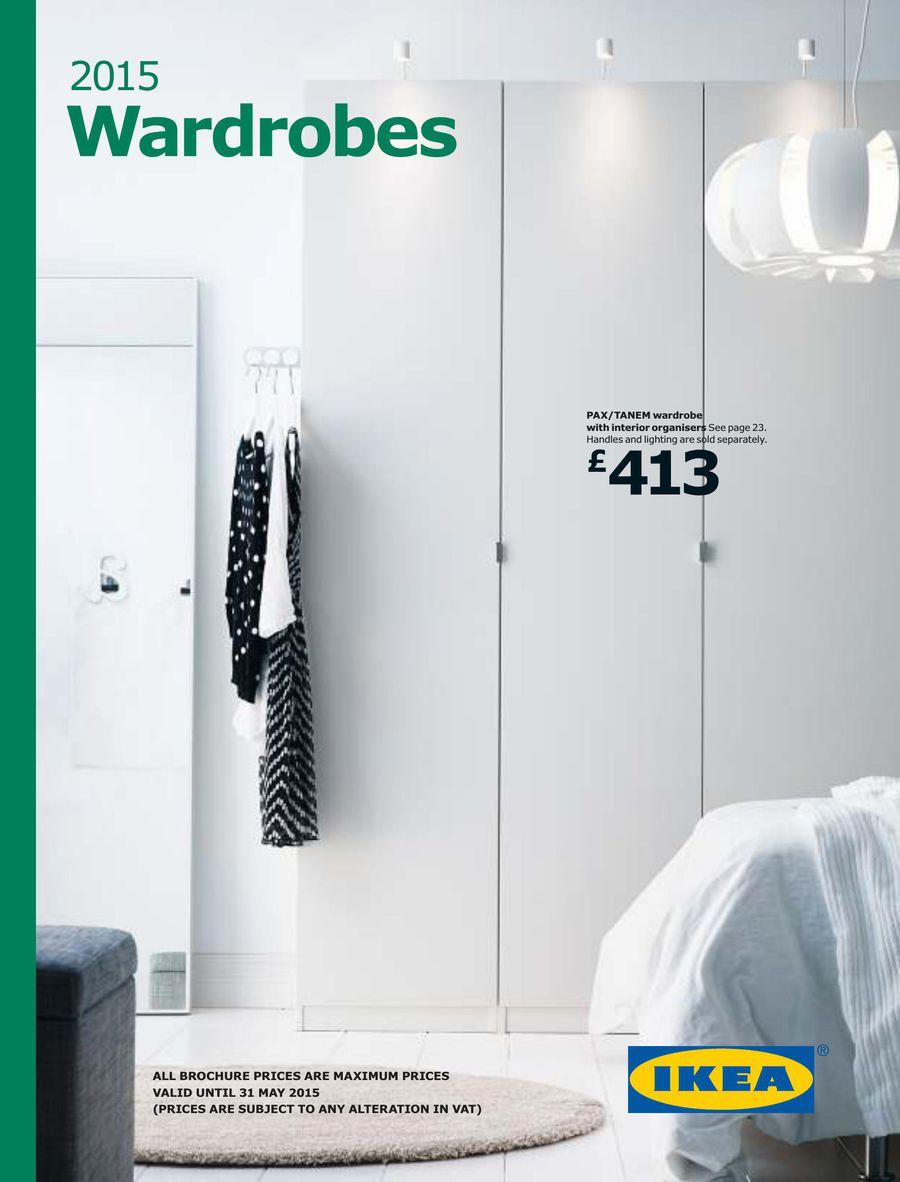 Wardrobes 2015 By Ikea Uk
