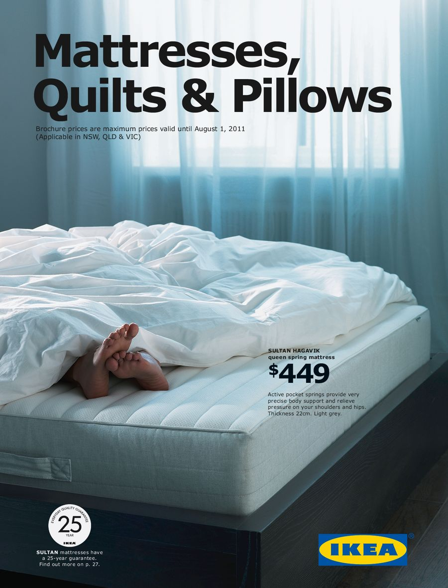 Ikea Australia East Mattresses, Quilts & Pillows 2011 by Ikea ... : quilts and pillows - Adamdwight.com