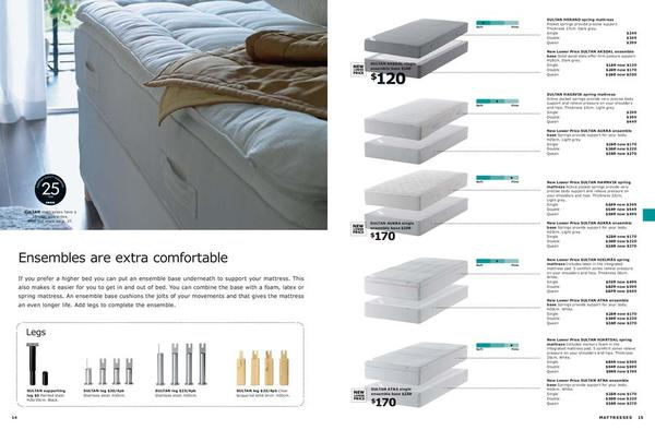 page 8 of ikea australia east mattresses quilts pillows 2011. Black Bedroom Furniture Sets. Home Design Ideas