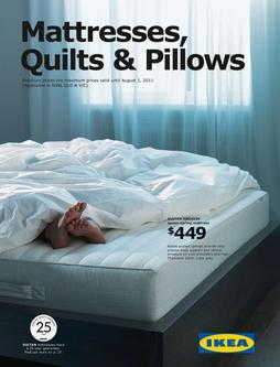 Ikea Australia East Mattresses, Quilts & Pillows 2011