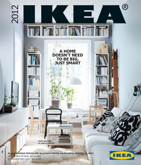 Ikea East Catalogue 2012