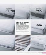 sultan hedfors mattress in ikea catalogue 2009 by ikea hong kong. Black Bedroom Furniture Sets. Home Design Ideas