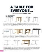 Dining Table Ikea In Catalogue 2009 By IKEA Malaysia