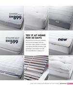 sultan mattresses in ikea catalogue 2009 by ikea malaysia. Black Bedroom Furniture Sets. Home Design Ideas