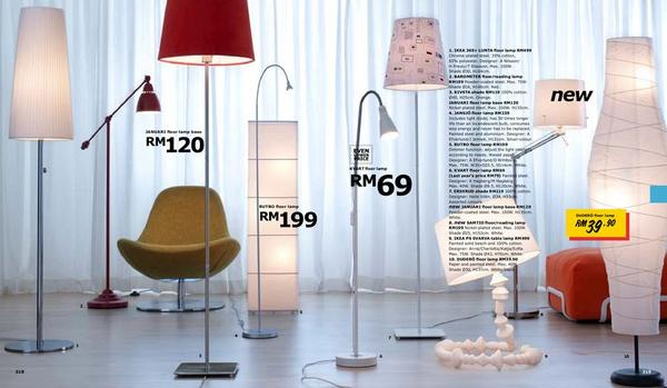 Tapesiicom  Ikea Floor Lamps Malaysia  Collection of lighting