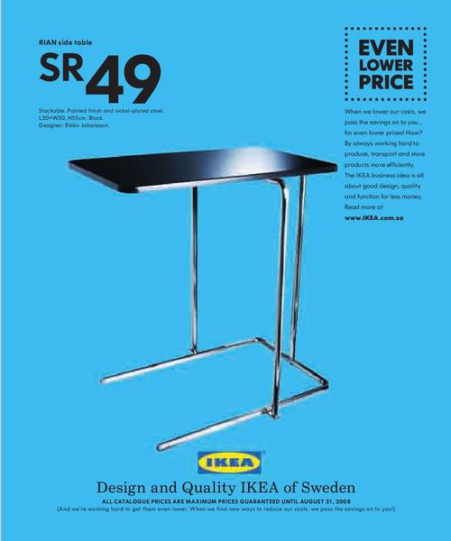 Ikea Rian Table