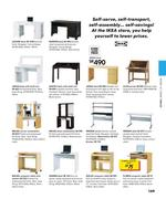 computer desk table in ikea catalogue 2008 by ikea saudi arabia. Black Bedroom Furniture Sets. Home Design Ideas