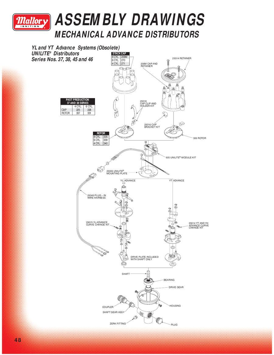 Mallory Ignition Wiring Diagram Unilite