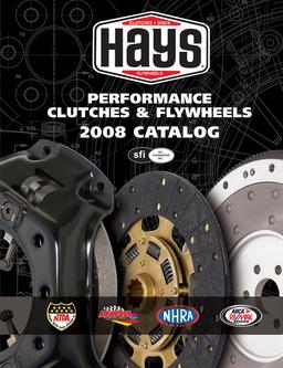 Hays Performance Clutches & Flywheels 2008