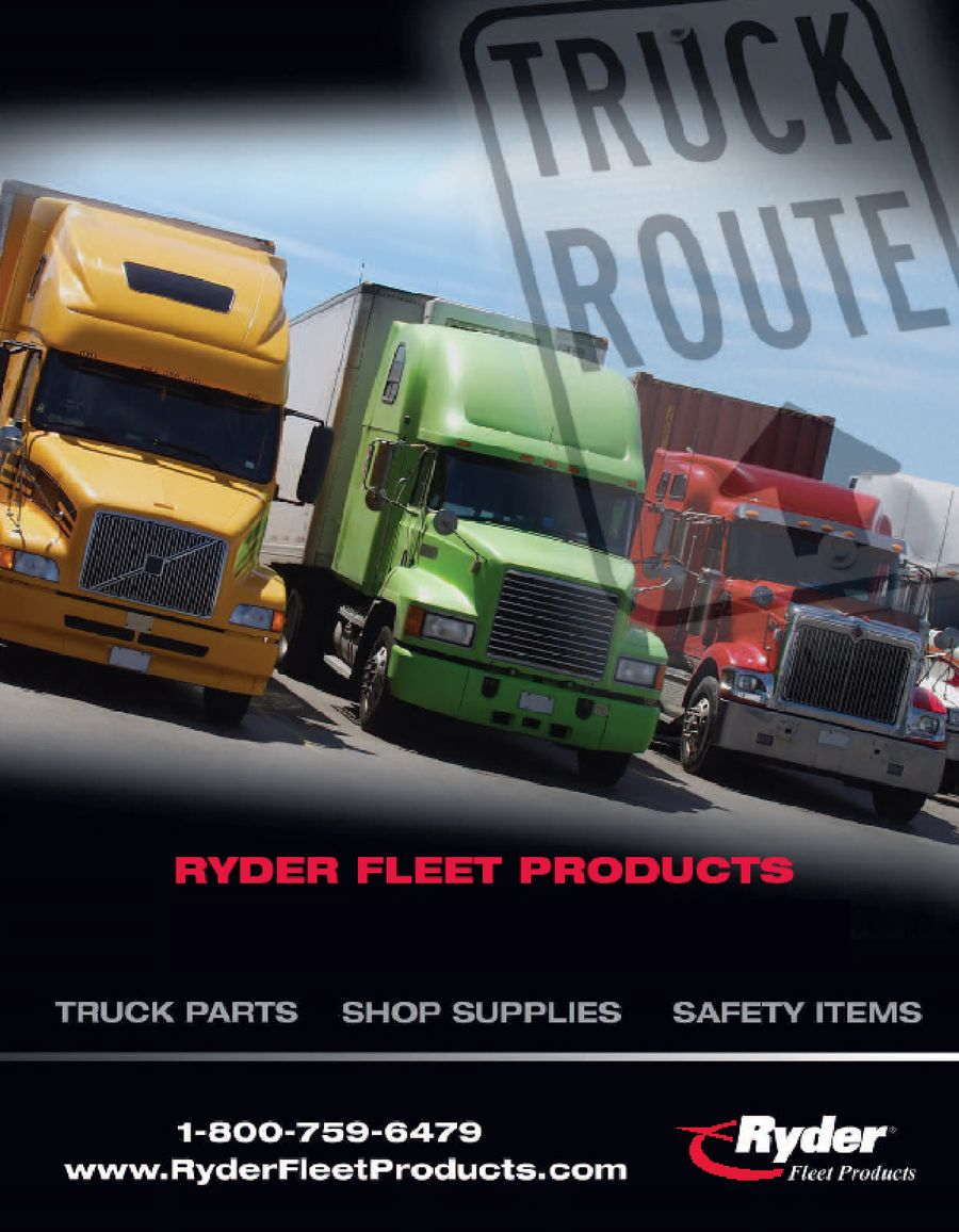 Truck Parts 2008 by Ryder Fleet Products