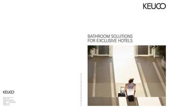 Bathroom Solutions for Exclusive Hotels 2013