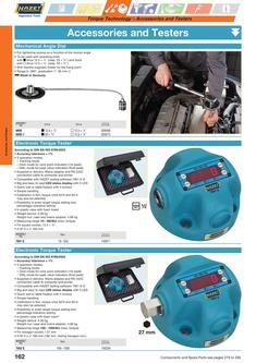 Torque Testers and Accessories 2013