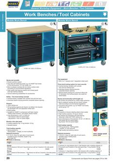 Work Benches / Tool Cabinets 2013