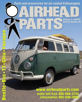 Parts and accessories for air-cooled Volkswagens 2008