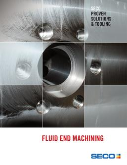 Fluid End Machining 2016