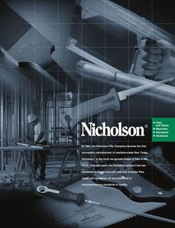 cooper and nicholson file company Should cooper industries acquire nicholson file company - download as word doc (doc / docx), pdf file (pdf), text file (txt) or read online discusses the.
