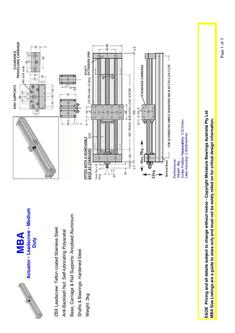 Actuator - Leadscrew - Medium Duty