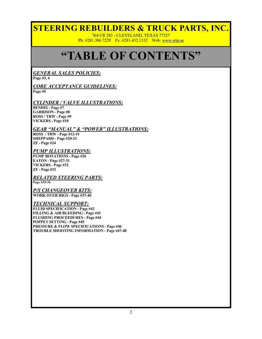 Power & Manual Steering by Steering Rebuilders & Truck Parts