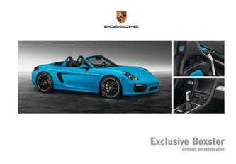 Exclusive Boxster 2014