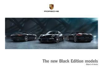 The new Black Edition models 2015