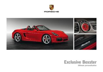 Exclusive Boxster 2015