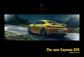 The new Cayman GT4 2015