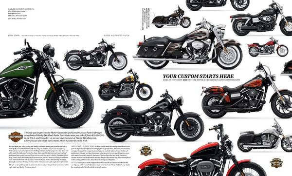 2009 Genuine Motor Parts and Accessories by Harley Davidson
