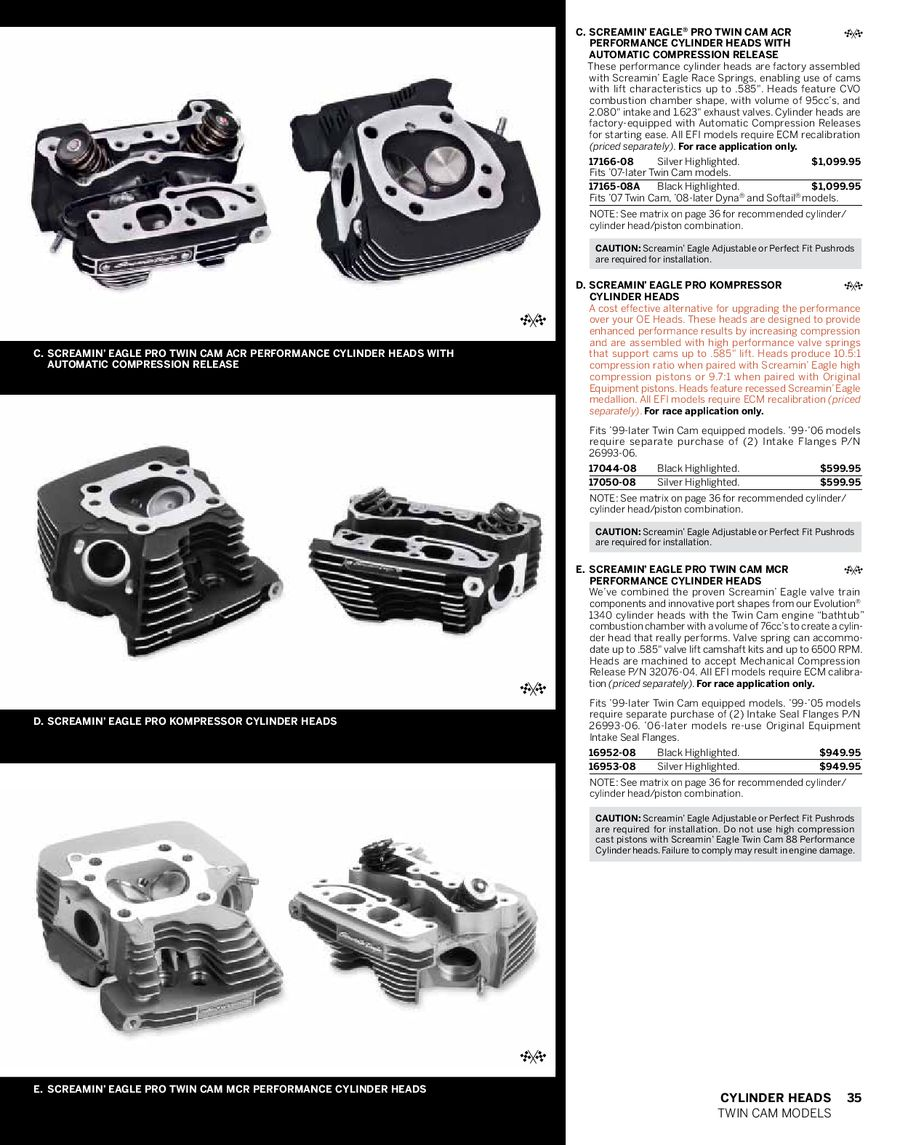 Page 28 of 2010 screamin' eagle pro racing parts