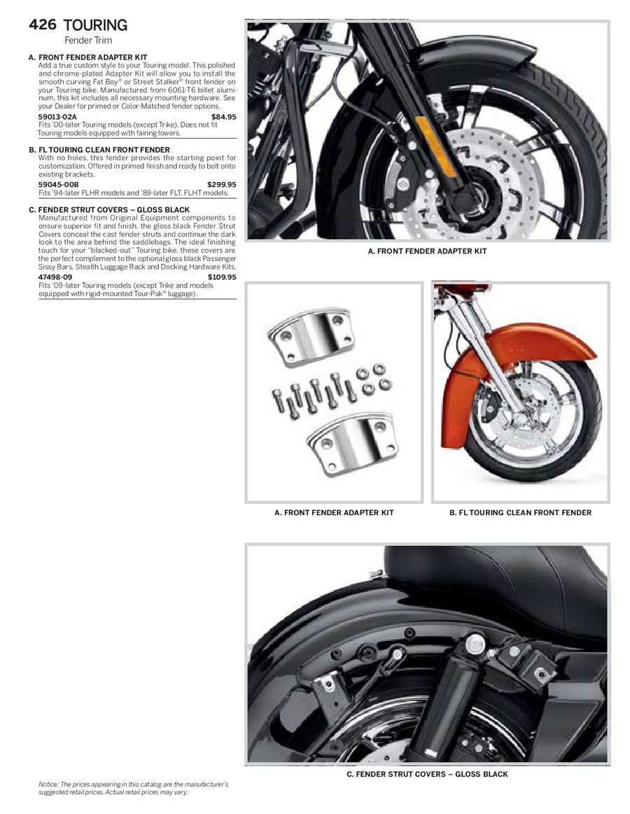 Page 126 of Harley Davidson Touring Family Parts