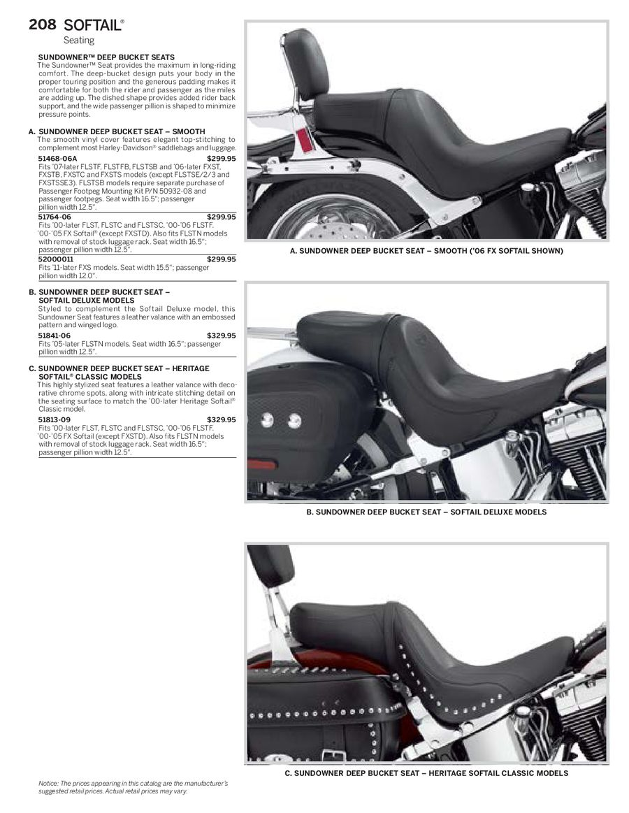 Page 24 of Harley Davidson Softail Family Parts