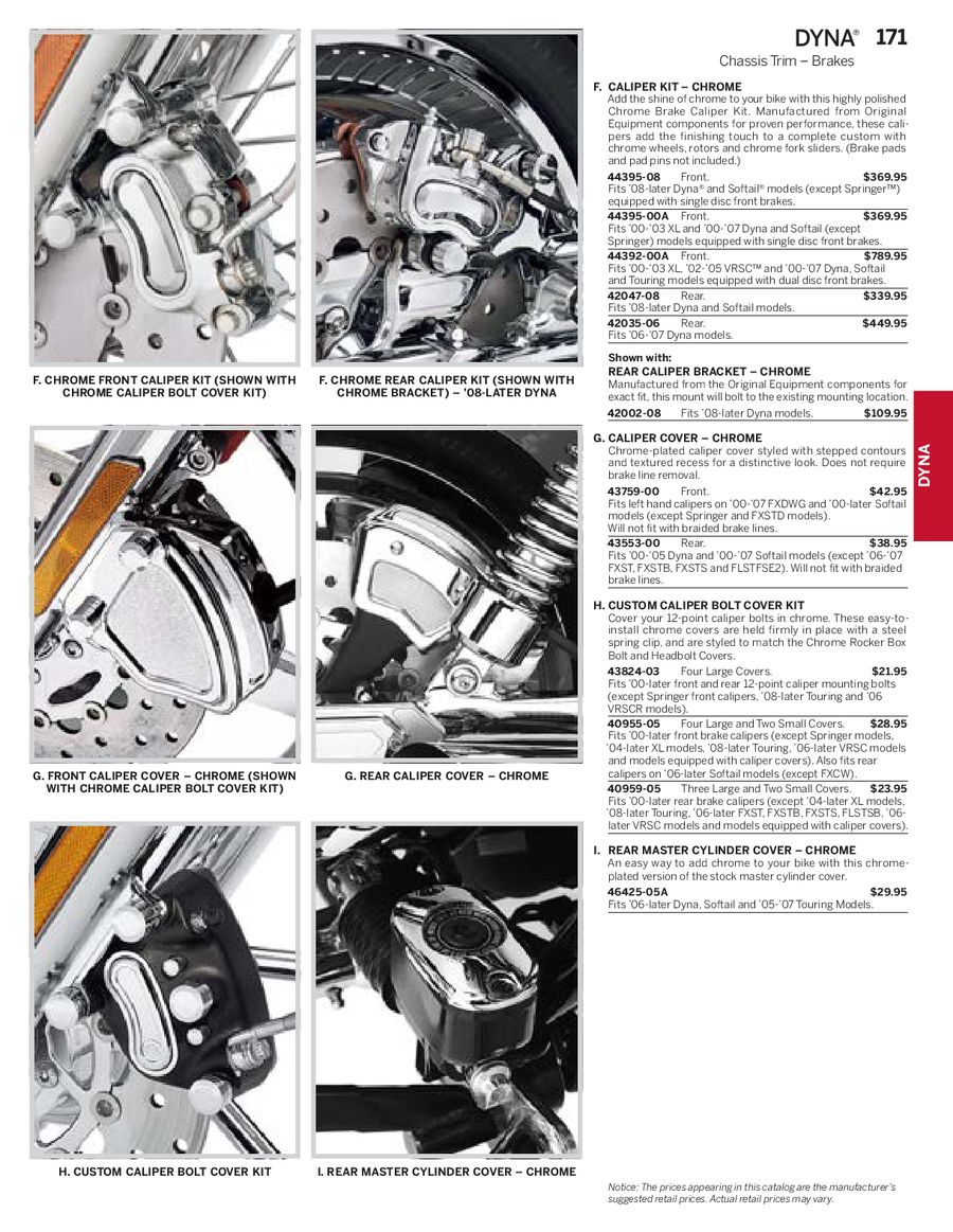 Page 59 of Harley Davidson Dyna Family Parts & Accessories 2013