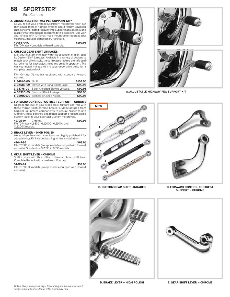 Page 37 of Harley Davidson Sportster Parts & Accessories 2013